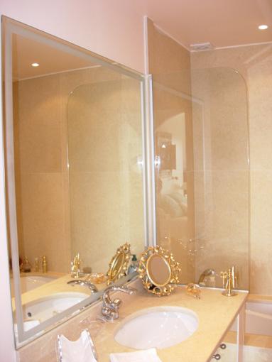 Sablart salle de bain - Pare baignoire miroir ...